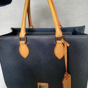 Dooney and Bourke hang bag (with shoulder strap)